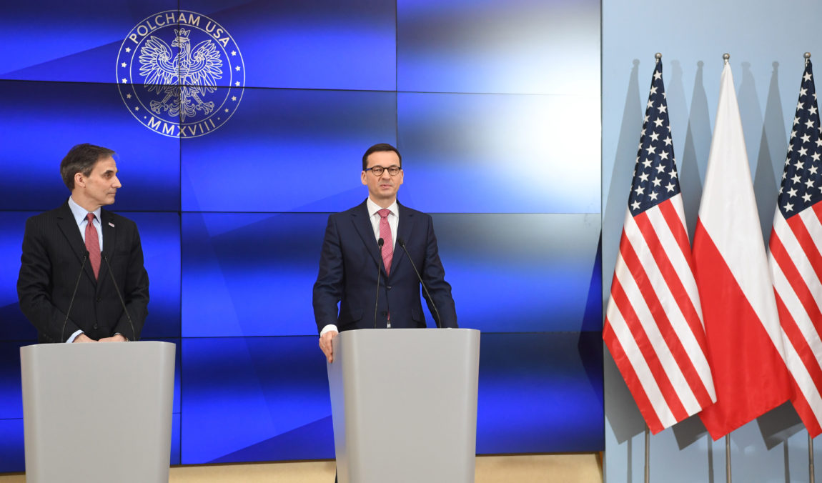 Prime Minister Mateusz Morawiecki and Paul W. Jones, the US Ambassador to Poland, announced the opening of the Polish Chamber of Commerce in the United States